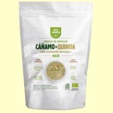 Mezcla de Semillas de Cáñamo con Quinoa y Amaranto Hinchados Eco - 200 gramos - Eco Canem *