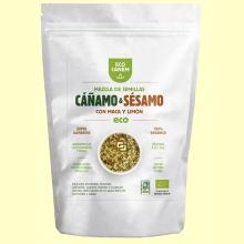 Mezcla de Semillas de Cáñamo y Sésamo con Maca y Limón Eco - 200 gramos - Eco Canem *