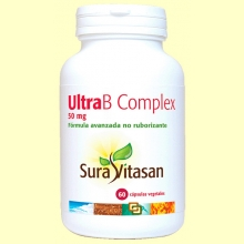 Ultra B Complex Coenzimada 50 mg - 60 cápsulas - Sura Vitasan