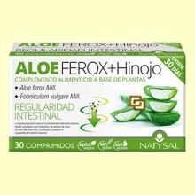 Aloe Ferox + Hinojo - Regulador Intestinal - 30 comprimidos - Natysal