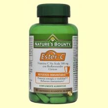 Ester-C - Refuerzo Immunitario - 90 comprimidos - Nature's Bounty *