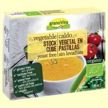 Caldo de Verduras Eco - 6 pastillas - Granovita