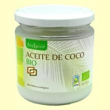Aceite de Coco Bio Virgen Extra - 240 gramos - Biospirit