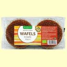 Wafels de Espelta Bio - 175 gramos - Biospirit *