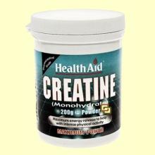 Creatina (Monohidrato) - 200 gramos - Health Aid
