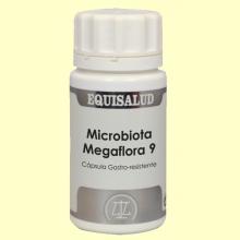 Microbiota Megaflora 9 - 60 cápsulas - Equisalud