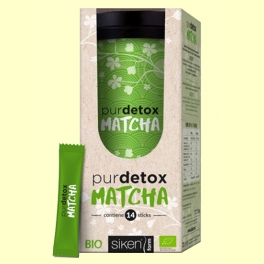 Purdetox Matcha Bio - 14 sticks - Siken Form