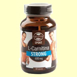 L-Carnitina Strong - 60 cápsulas - Naturmil
