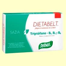 Dietabelt Sazia Triptófano + B1, B3 y B6 - 40 cápsulas- Santiveri