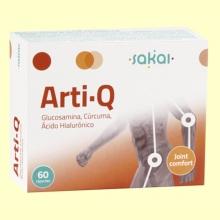 Arti-Q - Articulaciones - Sakai - 60 cápsulas