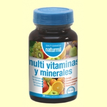 Multi Vitaminas y Minerales - 30 perlas - Naturmil