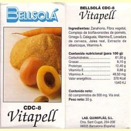 Vitapell - 60 comprimidos - Bellsolá