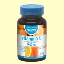 Vitamina C - 60 comprimidos - Naturmil