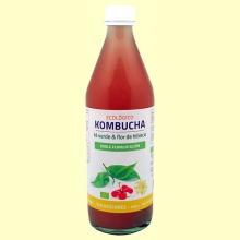 Kombucha de Té Verde y Flor de Hibisco Eco - 500 ml - Bioener