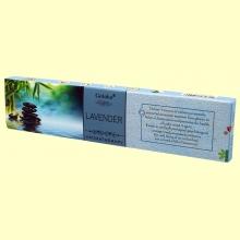 Incienso Lavender - 15 gramos - Goloka