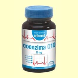 CoEnzima Q10 30mg - 30 perlas - Naturmil *