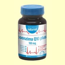 CoEnzima Q10 Plus 100mg - 60 cápsulas - Naturmil