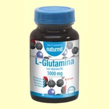 L-Glutamina 1000mg - 60 comprimidos - Naturmil