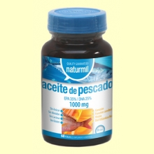 Aceite de Pescado 1000mg - 60 perlas - Naturmil *