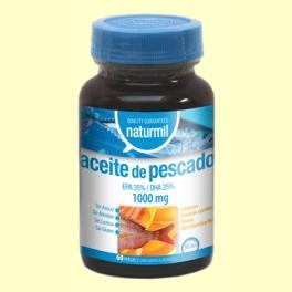 Aceite de Pescado 1000mg - 60 perlas - Naturmil