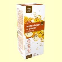 Aceite de Hígado de Bacalao con Jalea Real Plus - 500 ml - Naturmil