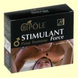 Stimulant Force Pour Homme - Energía - 12 ampollas - Bipôle