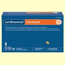 Orthomol Immun - Viales - 30 raciones - Laboratorio Cobas