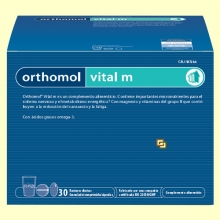 Orthomol Vital M - Granulado - 30 raciones - Laboratorio Cobas