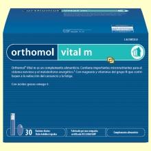 Orthomol Vital M - Viales - 30 raciones - Laboratorio Cobas