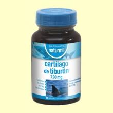 Cartílago de Tiburón 750mg - 90 cápsulas - Naturmil
