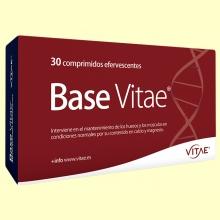 Base - Articulaciones y Huesos - 30 comprimidos efervescentes - Vitae