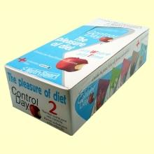 Barrita Control Day - Sabor Frutos Rojos - NutriSport - 24 barritas