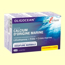 Aqualcium - Calcio de Origen Marino - 60 cápsulas - Super Diet