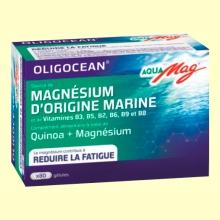 Aquamag - Magnesio de Origen Marino - 80 cápsulas - Super Diet