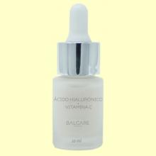 Ácido Hialurónico Ecológico Puro + Vitamina C - 10 ml - Balcare