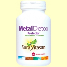 Metal Detox Protector - Sura Vitasan - 60 cápsulas