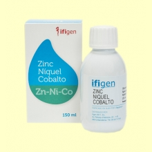 Oligoelemento Zinc+Níquel+Cobalto - 150 ml - Ifigen