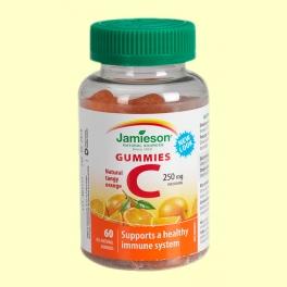 Vitamin C Gummies - 60 caramelos de goma - Jamieson