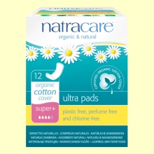 Compresas Ultra Bio - Super Plus - 12 unidades - Natracare *