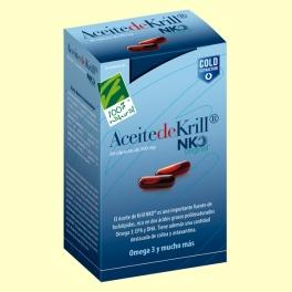Aceite de Krill - 80 cápsulas vegetales - 100% Natural