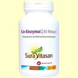 Co-Enzyma Q10 Retard - 60 cápsulas - Sura Vitasan
