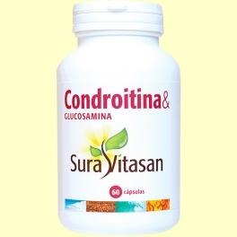 Condroitina & Glucosamina - 60 cápsulas - Sura Vitasan