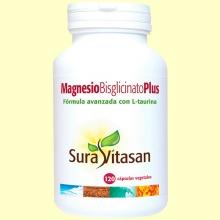 Magnesio Bisglicinato Plus - 120 cápsulas - Sura Vitasan