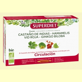 Cuarteto Circulación Bio - 20 ampollas - Super Diet