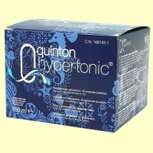 Quinton Hypertonic - Quinton - 30 ampollas
