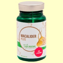 Macalíder Plus Estandarizada - 60 cápsulas - Naturlider