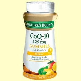 CoQ-10 125 mg gummies - 60 gominolas - Nature's Bounty