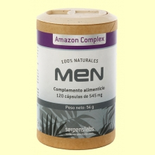 Men Amazon Complex - 120 cápsulas - Serpens
