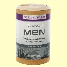 Men Amazon Complex - 120 cápsulas - Serpens