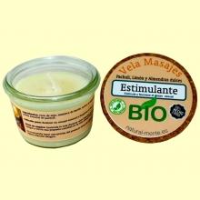 Vela Masaje Estimulante Bio - 50 gramos - Natural mente